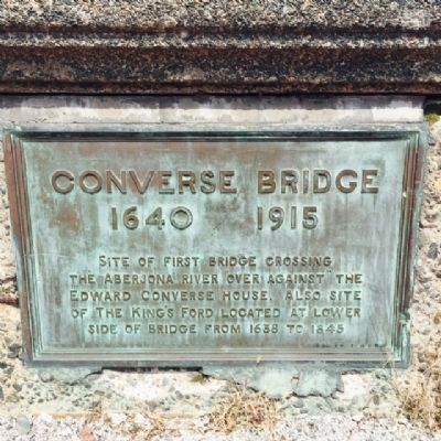 Converse Bridge Marker image. Click for full size.