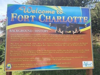 Welcome to Fort Charlotte Marker image. Click for full size.
