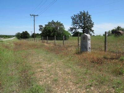Site of Home of Col. Robert M. Coleman Marker image. Click for full size.