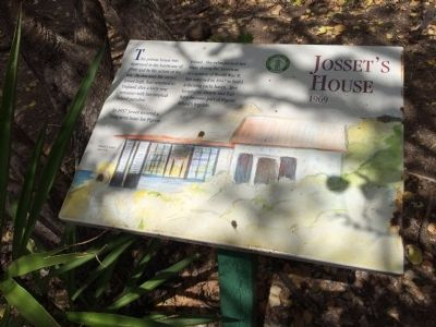 Josset's House Marker image. Click for full size.