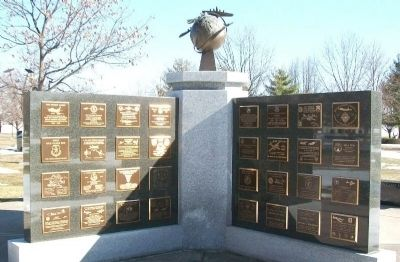 NMUSAF Memorial Wall #2 image. Click for full size.