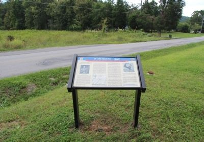 Worthen's Gap Marker image. Click for full size.