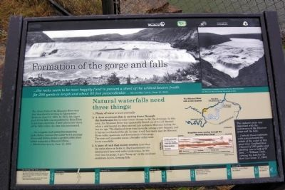 Formation of the Gorge and Falls Marker image. Click for full size.