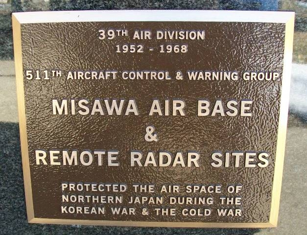 Misawa Air Base & Remote Radar Sites Marker