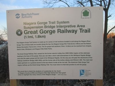 Great Gorge Railway Trail (1.1mi, 1.8km) Marker image. Click for full size.