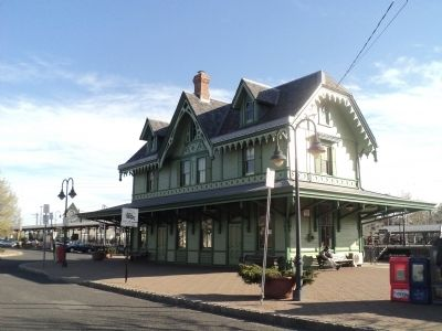 Red Bank Victorian Train Station image. Click for full size.