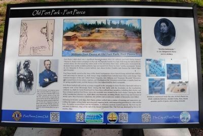 An additional Old Fort Park Marker image. Click for full size.