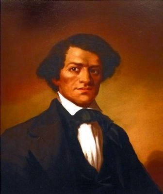 Frederick Douglass image. Click for full size.