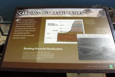 Carving Out Basalt Layers Marker image. Click for full size.