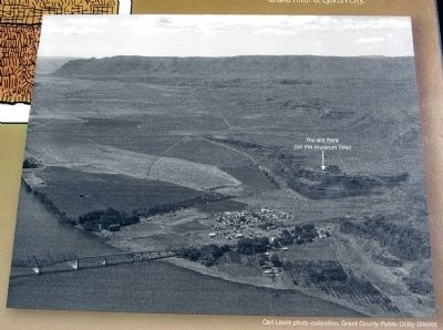 Previous Site of Town of Vantage image. Click for full size.