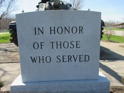 Town of Somerset Veterans Memorial image. Click for full size.