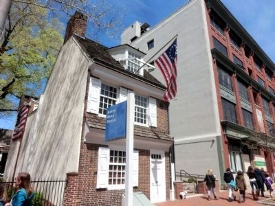 Betsy Ross House image. Click for full size.