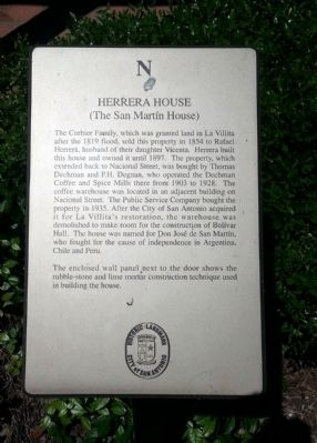 Herrera House Marker image. Click for full size.