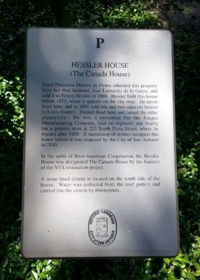 Hessler House Marker image. Click for full size.
