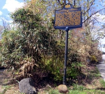Greenbelt Knoll Marker image. Click for full size.