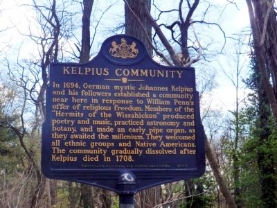 Kelpius Community Marker image. Click for full size.