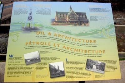 Oil & Architecture Marker image. Click for full size.