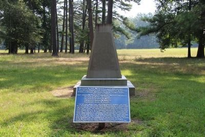 Battery D, 1st Michigan Artillery Monument image. Click for full size.