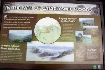 In the Path of Cataclysmic Floods Marker image. Click for full size.