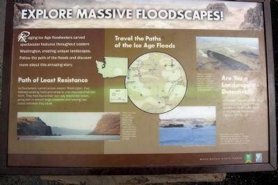 Explore Massive Floodscapes! Marker image. Click for full size.