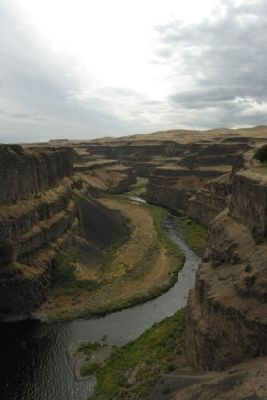 Palouse River Canyon South of Palouse Falls image. Click for full size.