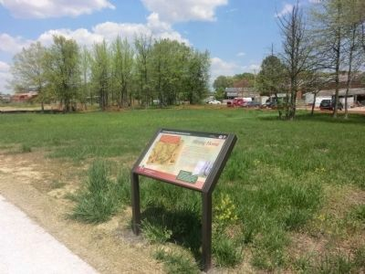 Hitting Home Marker-Distant shot of North Point Battlefield image. Click for full size.