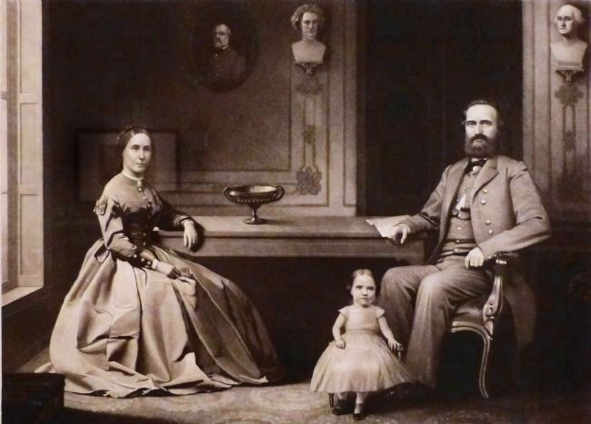 Lieut. Gen. Thomas J. Jackson and His Family image. Click for full size.