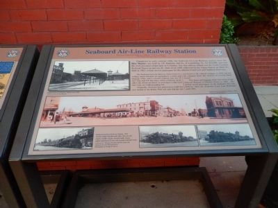 Seaboard Air-Line Railway Station #2 Marker image. Click for full size.