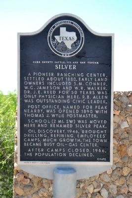 Silver Marker image. Click for full size.