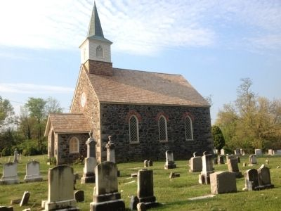 Old Salem Church and Graveyard image. Click for full size.