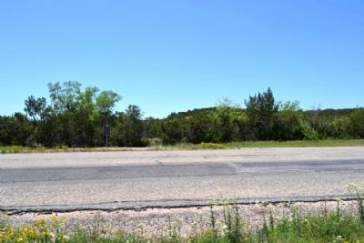 View to Southwest Across State Highway 158 image. Click for full size.
