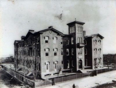 The Old Asylum at 14th and S Streets. image. Click for full size.