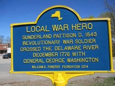 Local War Hero Marker image. Click for full size.