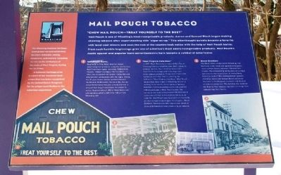 Mail Pouch Tobacco Marker image. Click for full size.