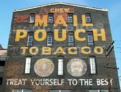 Mail Pouch Tobacco Building image. Click for full size.