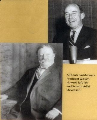 President Taft and Adlai Stevenson image. Click for full size.