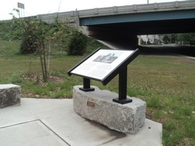 The Passaic River Marker image. Click for full size.