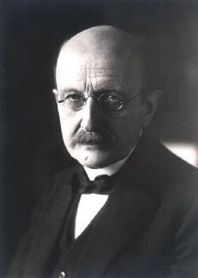 Max Planck (1858-1947) image. Click for full size.