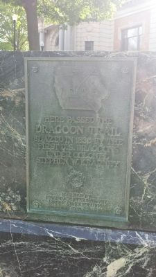 Dragoon Trail Historical Site Marker No. 9 Marker image. Click for full size.