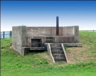 Some Sort of Emplacement in the vicinity of the Marker image. Click for full size.
