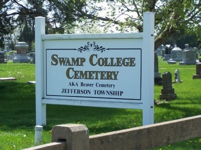 Swamp College Veterans Memorial Marker image. Click for full size.
