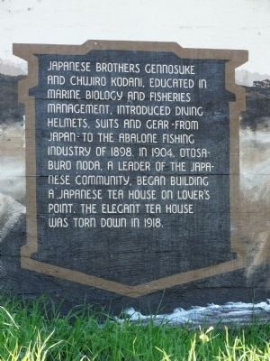 The Native People of this Coastal Area Marker - Fourth Panel image. Click for full size.
