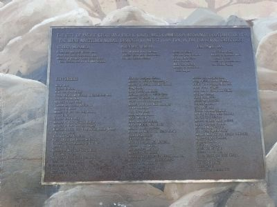 The Irene Masteller Mural Marker - Recognition Plaque image. Click for full size.