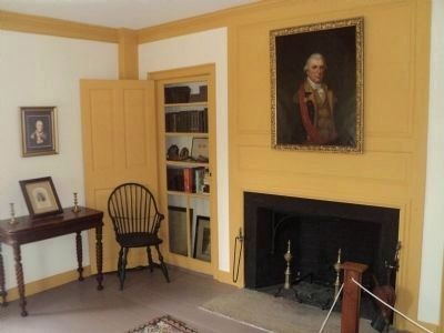 Parlor in the Gen. Nathanael Greene Homestead image. Click for full size.