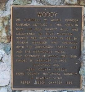 Woody Marker image. Click for full size.