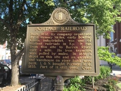 Portage Railroad Marker image. Click for full size.