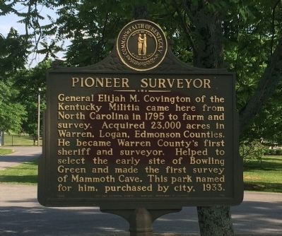 Pioneer Surveyor Marker image. Click for full size.
