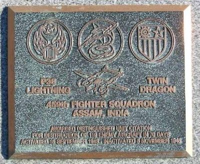 459th Fighter Squadron Marker image. Click for full size.