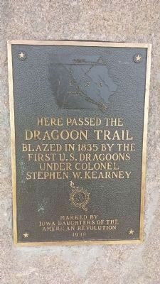 Dragoon Trail Historical Site Marker No. 12 Marker image. Click for full size.