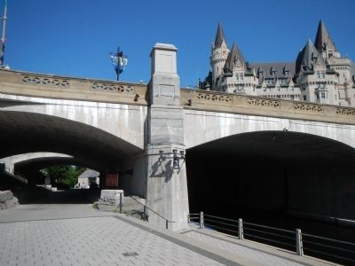 The Rideau Canal Marker image, Touch for more information